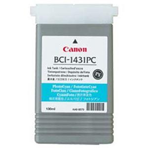 【純正品】 キヤノン(Canon) インクカートリッジ フォトシアン 型番:BCI-1431PC 単位:1個 h01