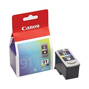 【純正品】 キヤノン(Canon) インクカートリッジ カラー(大容量) 型番:BC-91 単位:1個 h01