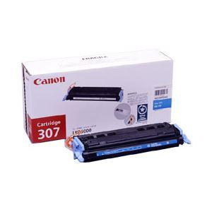 【純正品】 キヤノン(Canon) トナーカートリッジ 色:シアン 型番:カートリッジ307(C) 印字枚数:2000枚 単位:1個 h01