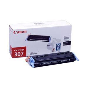 【純正品】 キヤノン(Canon) トナーカートリッジ 色:ブラック 型番:カートリッジ307(B) 印字枚数:2500枚 単位:1個 h01