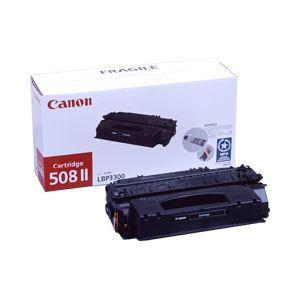 【純正品】 キヤノン(Canon) トナーカートリッジ ブラック 型番:カートリッジ508 II 印字枚数:6000枚 単位:1個 h01