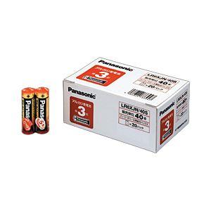 Panasonic(パナソニック) アルカリ乾電池 単3形 1箱(40本)