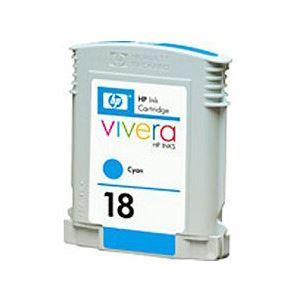 【純正品】 HP インクカートリッジ シアン 型番:C4937A(HP18) 単位:1個 h01