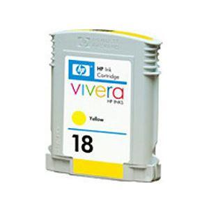 【純正品】 HP インクカートリッジ イエロー 型番:C4939A(HP18) 単位:1個 h01