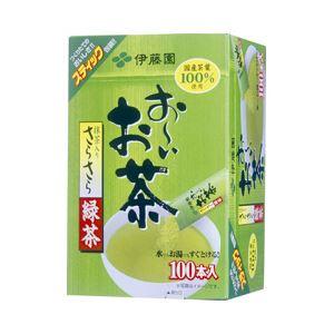 伊藤園 お〜いお茶 さらさら緑茶スティック