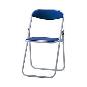 サンケイ 折りたたみ椅子 ブルー 型番:CF104-MX-BL-1