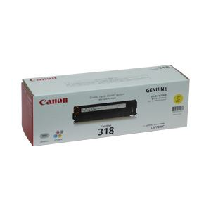【純正品】 キヤノン(Canon) トナーカートリッジ イエロー 型番:カートリッジ318(Y) 単位:1個 h01