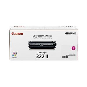 【純正品】 キヤノン(Canon) トナーカートリッジ マゼンタ 型番:カートリッジ322II(M) 単位:1個 h01