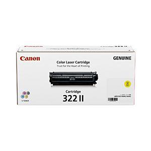 【純正品】 キヤノン(Canon) トナーカートリッジ イエロー 型番:カートリッジ322II(Y) 単位:1個 h01