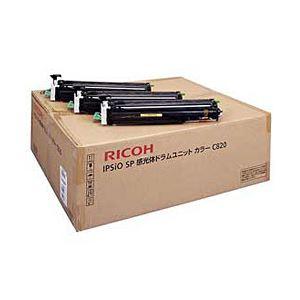 【純正品】 リコー(RICOH) トナーカートリッジ 感光体ユニット カラー 型番:C820 印字枚数:40000枚 単位:1個 h01
