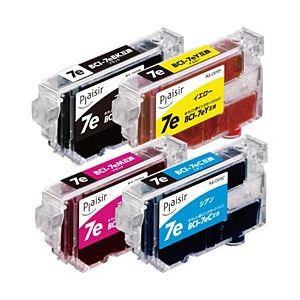 キヤノン(Canon) インクカートリッジ 4色マルチパック 汎用 BCI-7e/4MP対応 単位:1箱(4色セット) h01