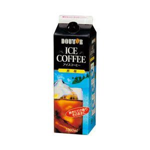 ドトール アイスコーヒー無糖 1箱(1000ml×6本)