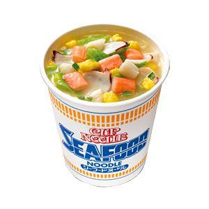 【まとめ買い】日清食品カップヌードル箱売シーフードヌードル1箱(74g×20個)