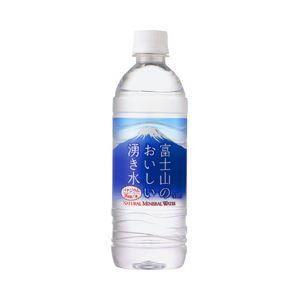 【まとめ買い】ポッカサッポロ 富士山のおいしい湧き水 1箱(530ml×24本)