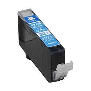 キヤノン(Canon)プリンター対応 リサイクルインクカートリッジ 対応純正カートリッジ型番:BCI-321C 色:シアン 単位:1個 h01