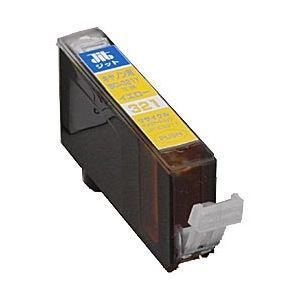 キヤノン(Canon)プリンター対応 リサイクルインクカートリッジ 対応純正カートリッジ型番:BCI-321Y 色:イエロー 単位:1個 h01