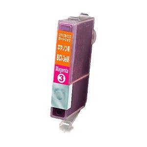 キヤノン(Canon)プリンター対応 リサイクルインクカートリッジ 対応純正カートリッジ型番:BCI-3eM 色:マゼンタ 単位:1個 h01