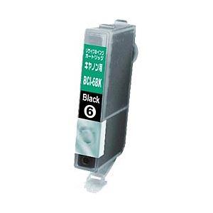 キヤノン(Canon)プリンター対応 リサイクルインクカートリッジ 対応純正カートリッジ型番:BCI-6BK 色:ブラック 単位:1個 h01