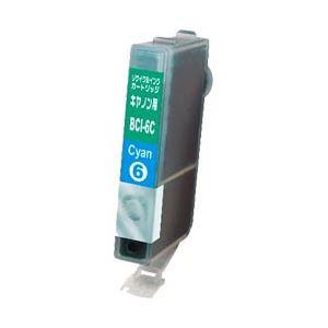 キヤノン(Canon)プリンター対応 リサイクルインクカートリッジ 対応純正カートリッジ型番:BCI-6C 色:シアン 単位:1個 h01