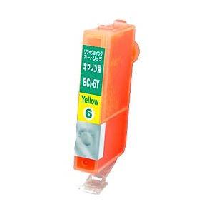 キヤノン(Canon)プリンター対応 リサイクルインクカートリッジ 対応純正カートリッジ型番:BCI-6Y 色:イエロー 単位:1個 h01