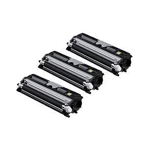 【純正品】 コニカミノルタ トナーカートリッジ 大容量ブラック 型番:TVP1600K 印字枚数:2500枚×3個 単位:1パック(3個入) h01