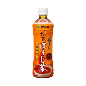 伊藤園 お〜いお茶 焼きたての香り ほうじ茶 箱売 1箱(500ml×24本)