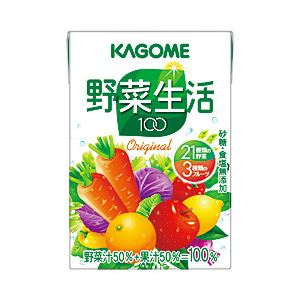 【まとめ買い】カゴメ野菜生活100オリジナル箱売紙パック1箱(100ml×36本)