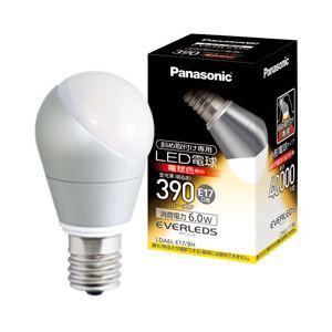 Panasonic(パナソニック)LED電球斜取付け専用E17口金25形・電球色・6.4WLDA6LE17BH