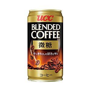 UCC ブレンドコーヒー 微糖 1箱(185g×30缶)