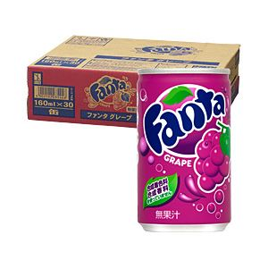 コカ・コーラ ファンタ 160ml缶 箱売 グレープ 1箱(160ml×30缶)