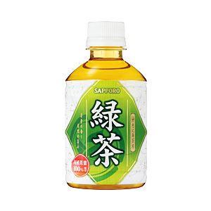 ポッカサッポロ 恵比寿茶房 緑茶 280mlペットボトル 箱売 1セット(280ml×48本)