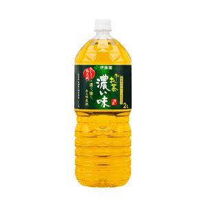 伊藤園 お〜いお茶 濃い味 箱売 1セット(2L×12本)