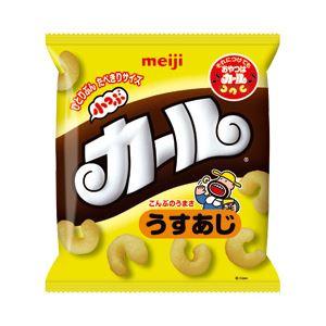 明治 小つぶカール うすあじ 1パック(14g×10袋)