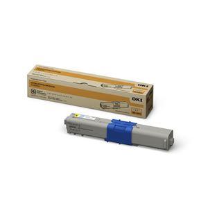 【純正品】 OKI(沖データ)対応 トナーカートリッジ イエロー 大容量 印字枚数:5000枚 1個 型番:TNR-C4KY2 h01