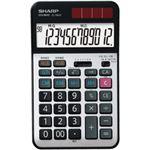 シャープ 実務電卓 12桁 1個 型番:EL-N942-X