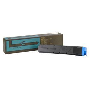 【純正品】 KYOCERA対応 トナーカートリッジ シアン 印字枚数:20000枚 1個 型番:TK-8601C h01