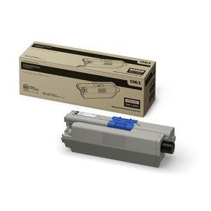 【純正品】 OKI(沖データ)対応 トナーカートリッジ ブラック 小容量 印字枚数:2000枚 1個 型番:TNR-C4KK3 h01