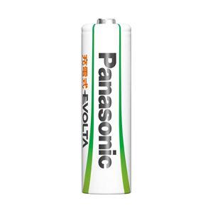 パナソニック 充電式EVOLTA 単3形ニッケル水素電池 BK-3MLE/4B 1パック(4本)