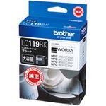 【訳あり・在庫処分】ブラザー工業(BROTHER) インクカートリッジ ブラック 型番:LC119BK 1個
