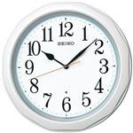 SEIKO(セイコー) 電波掛時計 パール KX812W 1個