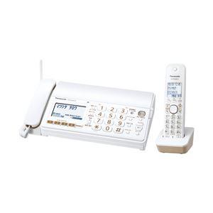パナソニック おたっくすFAX KX-PD303DL-W ホワイト 子機1台付き