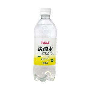 【まとめ買い】Kprice オリジナル 炭酸水(箱売) レモン 1箱(500ml×24本)