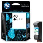 HP インクカートリッジ ブラック 型番:51640A(HP40) 単位:1個 51640A