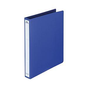 リングファイル(タテ・2穴) ブルー 背幅:3.6cm 1箱(40冊) FM-BASIC-009 BL-ハコ