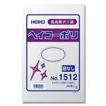 (業務用セット) ポリエチレン袋 薄口タイプ200枚入NO.12 34cmx23cm 【×10セット】