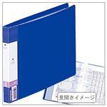 (業務用セット) クリヤーブック(ヨコ) A5・ポケット20枚 【×10セット】