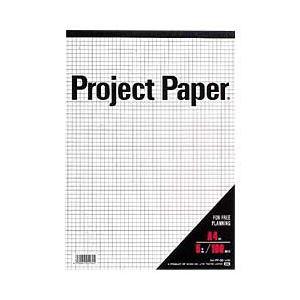 (業務用セット) オキナ プロジェクトペーパー(5mm方眼)パッド・A4 【×10セット】