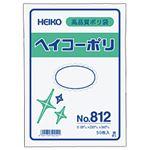 (業務用セット) ポリエチレン袋 厚口 50枚入 No.812:縦34×横23cm 【×10セット】