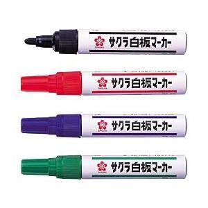 (業務用セット) サクラ 白板マーカー 4本セット 【×10セット】