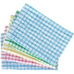 (業務用セット) ボンスター タオルふきん 5枚入(青2枚、黄・緑・ピンク各1枚) 【×10セット】